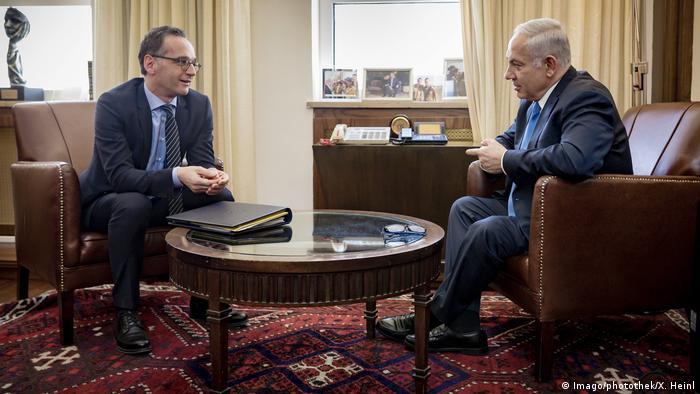 Israel Jerusalem Heiko Maas trifft Benjamin Netanjahu (Imago/photothek/X. Heinl)