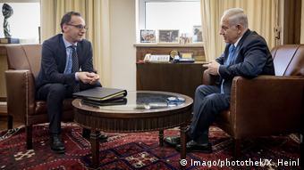 Israel Jerusalem Heiko Maas trifft Benjamin Netanjahu