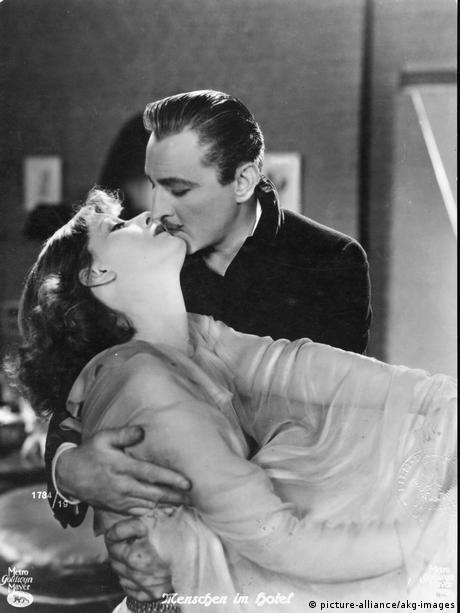 Film Greta Garbo in Menschen im Hotel