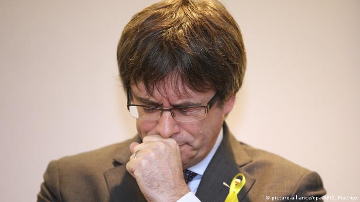 Belgien Carles Puigdemont (picture-alliance/dpa/AP/O. Matthys)