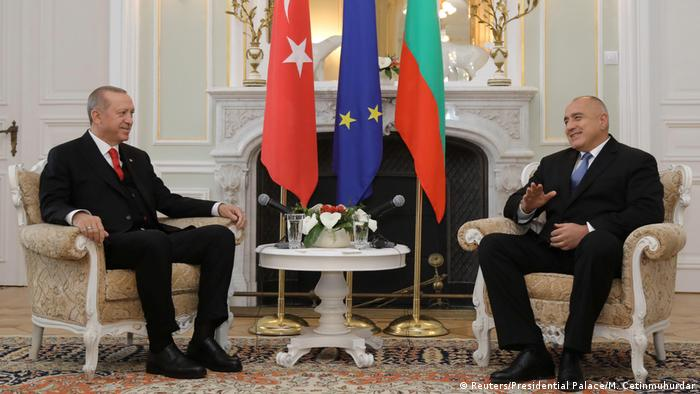 Ердоган и Борисов в Евксиноград през 2018 година
