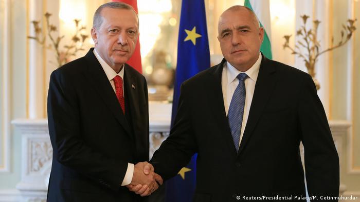 Bulgarien Warne Präsident Erdogan trifft Premierminister Borissow