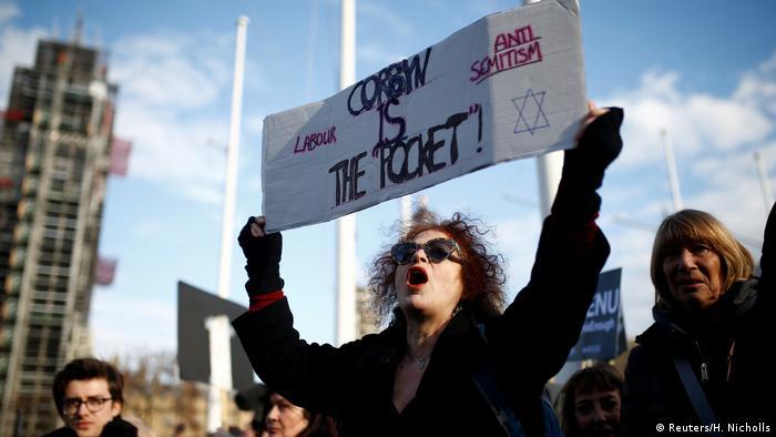 British Jews protest in London