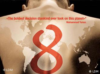 Image for the film 8, which deals with the MDGs