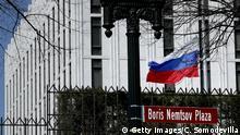 USA Ausweisung sechzig russischer Diplomaten auf Grund der Vergiftung des ehemaligen russischen Spions