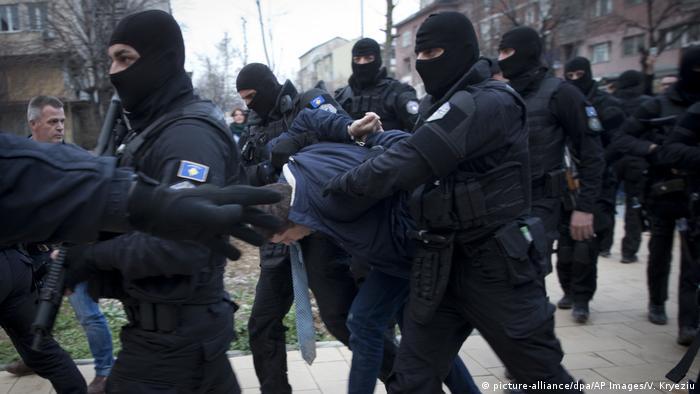 Kosovo Verhaftung Marko Djuric