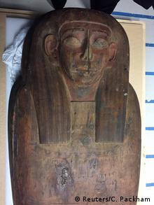 A 2,500-year old coffin at the University of Sydney