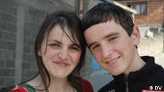 Elmedin (rechts) und Josana (Foto: ako)