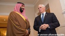 Saudischer Kronprinz besucht USA
