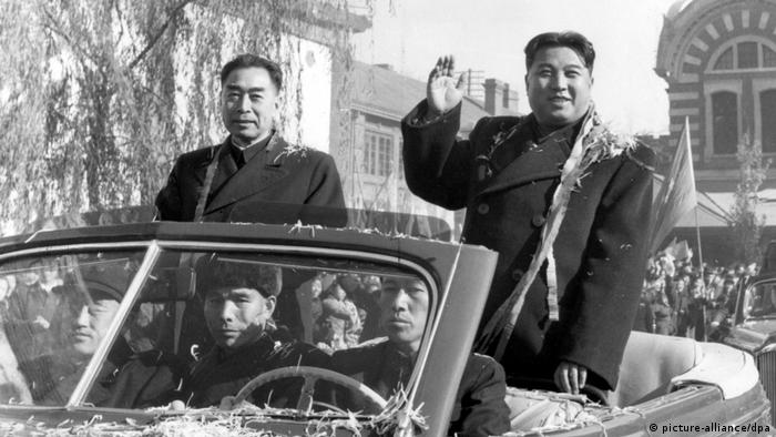 China Kim Il Sung besucht Peking (picture-alliance/dpa)
