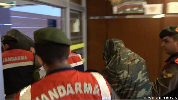 Edirne Türkei 2 griechische Soldaten inhaftiert