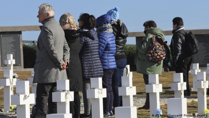 Argentinien Gedenken an Opfer des Falklandkrieges