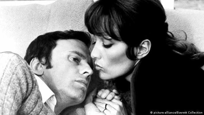 LES BICHES, Jean-Louis Trintignant, Stephane Audran, 1968 (picture-alliance/Everett Collection)