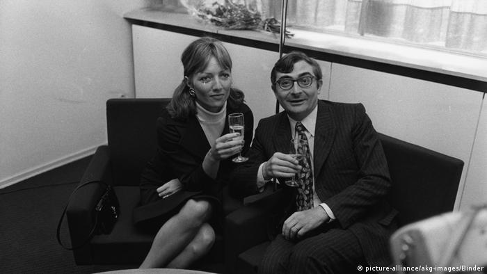 Claude Chabrol u. Stephane Audran (picture-alliance/akg-images/Binder)