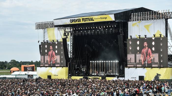 Фестиваль Open'er у Польщі
