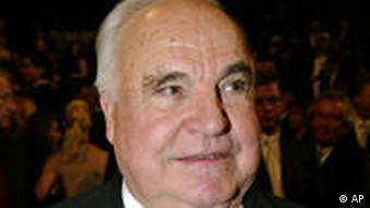 Helmut Kohl Porträt