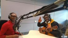 Wer: Lion Baryton (Musiker aus Guinea) mit Yann Durand ( DW Französisch) Wo : DW Studio Bonn Wann: 20.03.18 Autor: Lion Baryton