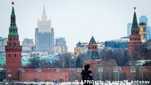 Symbolbild Kreml Moskau Russland Regierung