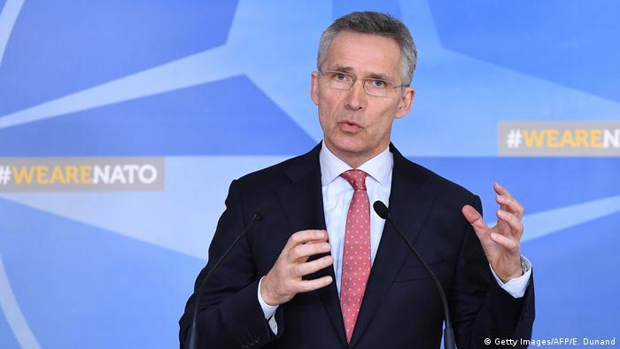 Belgien Nato weist wegen Giftanschlags sieben russische Diplomaten aus (Getty Images/AFP/E. Dunand)