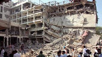Anschlag auf Luxushotel in Pakistan (Foto: dpa)