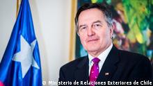 Roberto Ampuero, Außenminister Chiles. Rechte: Ministerio de Relaciones Exteriores de Chile