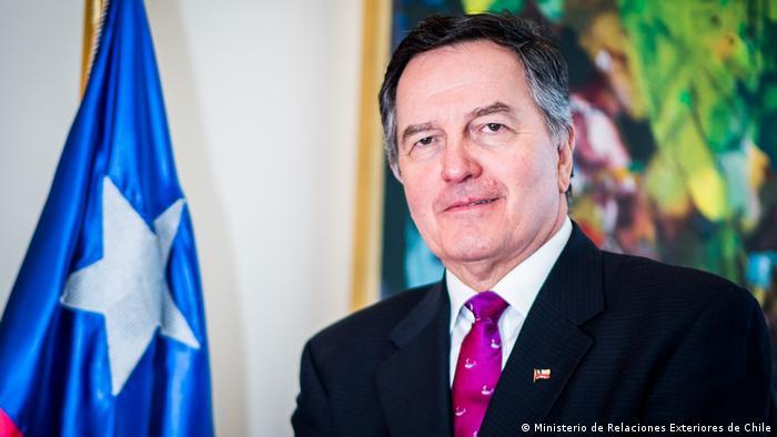 Roberto Ampuero, exministro de Relaciones Exteriores de Chile, bajo Sebastián Piñera.