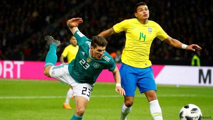 Freundschaftsspiel Deutschland gegen Brasilien (Reuters/F. Bensch)