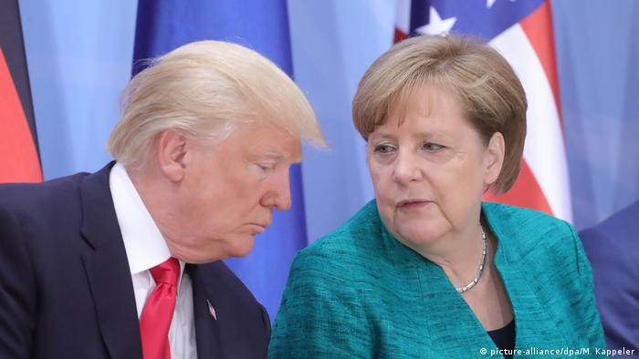 Angela Merkel und Donald Trump (picture-alliance/dpa/M. Kappeler)