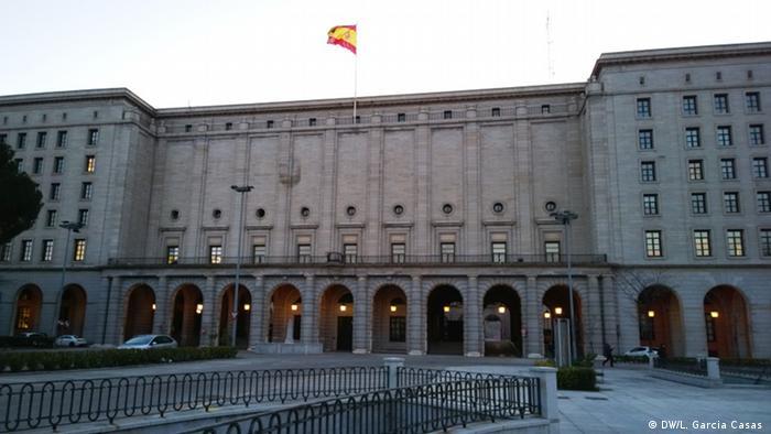 Francisco Franco Madrid Nuevos Ministerios (DW/L. Garcia Casas )