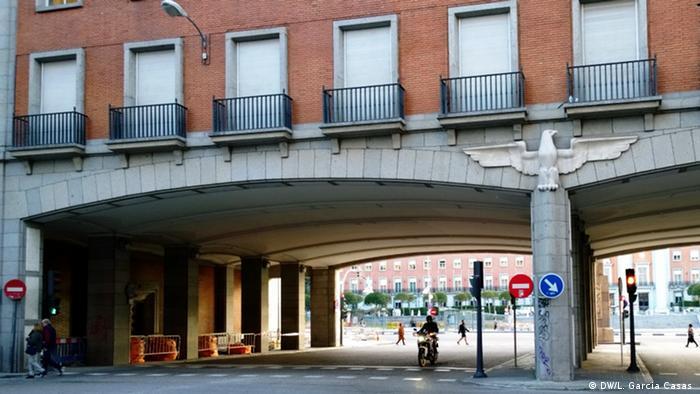 Francisco Franco Madrid Militärische Wohnungen (DW/L. Garcia Casas )