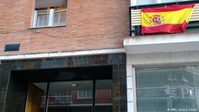 Francisco Franco Madrid Juan Vigón Straße (DW/L. Garcia Casas )