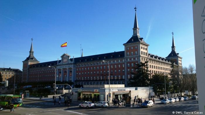 Francisco Franco Madrid Hauptquartier Luftwaffe (DW/L. Garcia Casas )