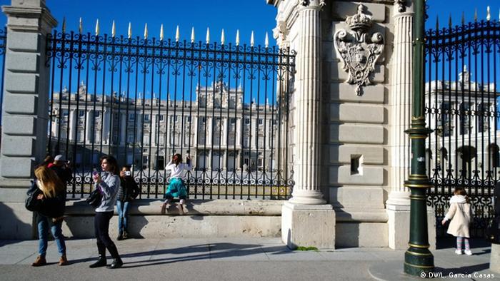 Francisco Franco Madrid Königspalast (DW/L. Garcia Casas )