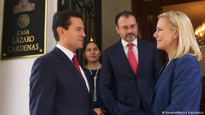 Mexiko City Treffen Pena Nieto Kirstjen Nielsen (Reuters/Mexico Presidency)