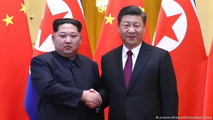 Kim Jong Un in China (picture-alliance/XinHua/dpa/J. Peng)