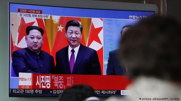 Kim meet Xi in Beijing
