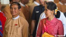 Myanmar Parlament wählt Win Myint zum neuen Präsidenten