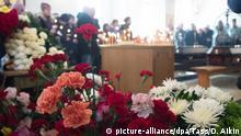 Russland Trauer nach Brand in Einkaufszentrum in Kemerowo, Sibirien