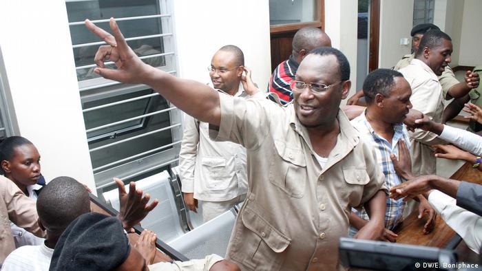 Anführer von Tansanias Oppositions-Partei Chadema