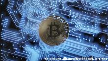 Bitcoins (picture alliance/NurPhoto/J. Arriens)