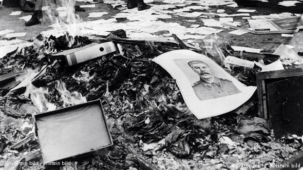 Bildergalerie Deutschland Geschichte DDR Aufstand 17. Juni Stalin Bild