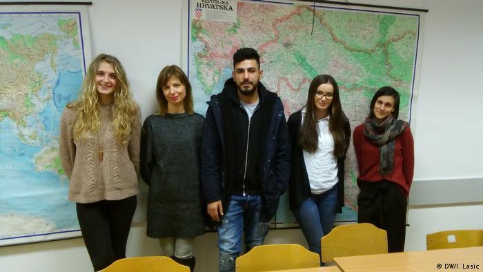 Ivana Bauk, Jelena Cvitanušić Tvico, Ali Mohammad, Maja Matijević i Ranka Đurđević