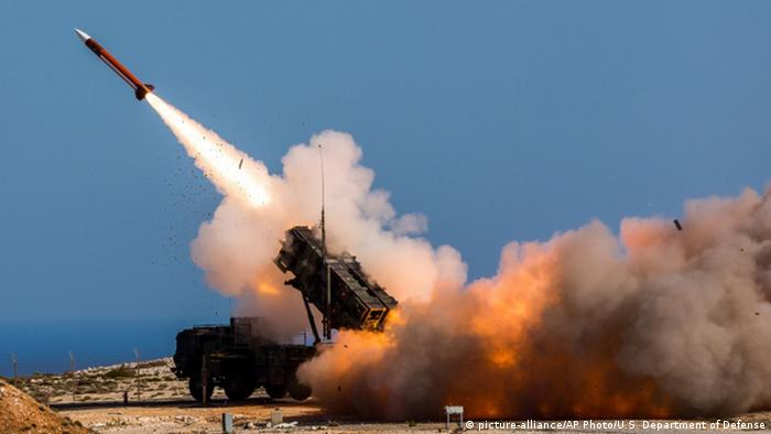 Patriot Raketen-Abwehr-System (picture-alliance/AP Photo/U.S. Department of Defense)