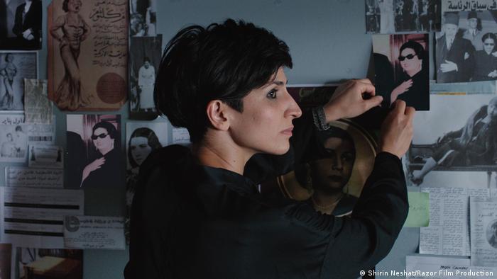ندا رحمانیان در نقش کارگردانی که تلاش میکند، فیلمی در باره زندگی امکلثوم بسازد