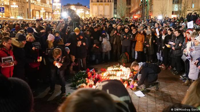 На Пушкинской площади в Москве