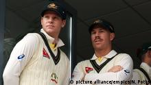 Cricket - Spieler Steve Smith und David Warner