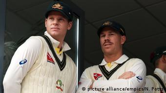Cricket - Spieler Steve Smith und David Warner