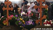 Russland - Trauerfeier für die Opfer von Kemerovo