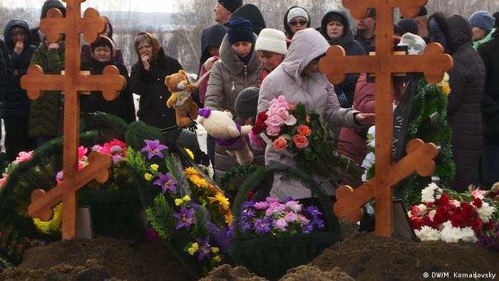 Похороны на Пятом кемеровском кладбище