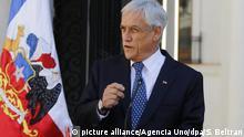 UN-Gericht: Bolivien fordert von Chile erneut Zugang zum Meer - Präsident Sebastian Pinera
